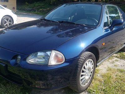 gebraucht Honda CR-X CRX Civic1.6iESI Cabrio/Hardtop, 06.1997, Blu met.
