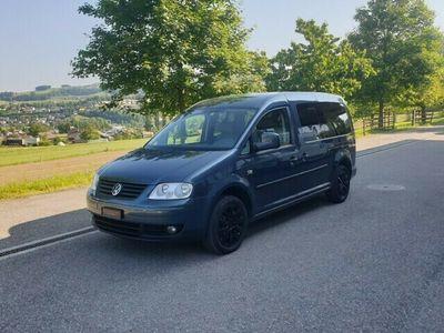 gebraucht VW Caddy Maxi 2.0 TDI Blue Motion Comfortline
