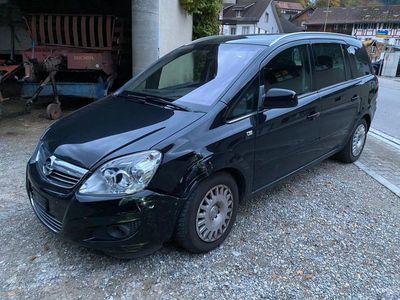 gebraucht Opel Zafira Zafrira 1.8 Benzin mit wenig Km