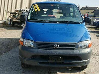 gebraucht Toyota HiAce D-4D LWB 4WD Van