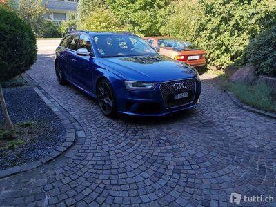 gebraucht Audi RS4 Avant 4.2 FSI mit Dachbox in Wagenfarbe