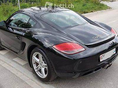 gebraucht Porsche Cayman S (Facelift) Typ 987 320 PS Schwarz/Schwarz