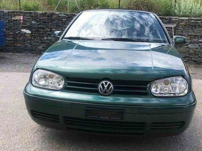 gebraucht VW Golf Cabriolet 2.0 / 145 000 km