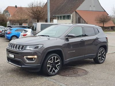 gebraucht Jeep Compass 1.4 Turbo Limited AWD 9ATX