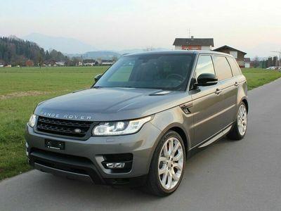 gebraucht Land Rover Range Rover Sport 5.0 V8 SC HSE Dynamic Automatic