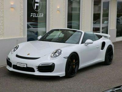gebraucht Porsche 911 Turbo S Cabriolet PDK TechArt