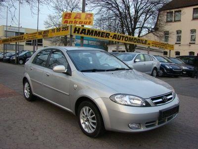 gebraucht Chevrolet Lacetti CDX 1 8i 16V LPG GAS BENZIN KLIMA ABS SERVO