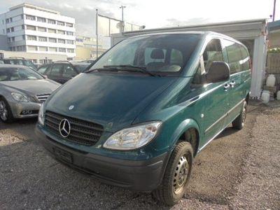 gebraucht Mercedes Vito 115 CDI 4x4