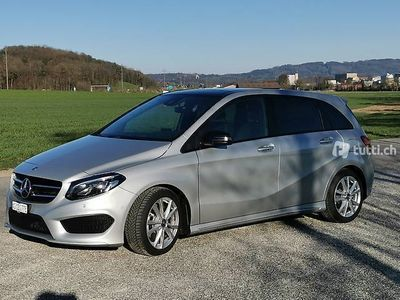 gebraucht Mercedes B220 AMG-Line 4Matic 7G-D inkl. AHK manuell