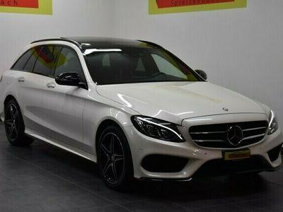 gebraucht Mercedes C220 BlueTEC Swiss Star AMG Line 7G-Tronic