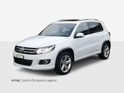gebraucht VW Tiguan 2.0 TDI BMT Cup R-Line 4Motion DSG