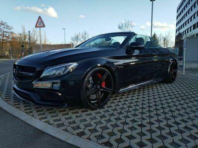 gebraucht Mercedes C63S AMG Cabriolet AMG Speedshift