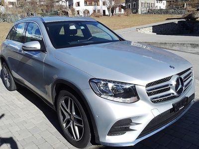 gebraucht Mercedes GLC250 GLC-Klassed AMG Line 4Matic 9G-Tronic