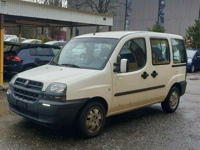 gebraucht Fiat Doblò 1.9 JTD ELX