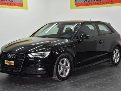 gebraucht Audi A3 2.0 TDI Ambition quattro S-tronic S-LINE SPORTPAKET