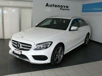 gebraucht Mercedes C200 AMG Line 4Matic 7G-Tronic