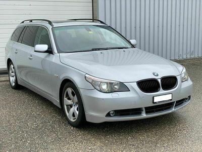gebraucht BMW 530 5er 530d e61, Jg04, 185Tkm, 218Ps, frisch ab MFK! 5er d e61, Jg04, 185Tkm, 218Ps, frisch ab MFK!