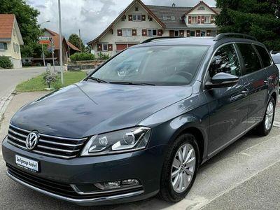 gebraucht VW Passat 2.0 dunkelgrau-met
