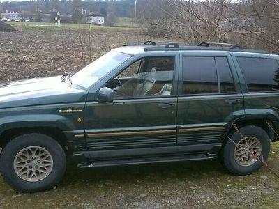 gebraucht Jeep Grand Cherokee 5,2l Limited AHK 3,5T Tritbrett 171000Km