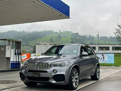 gebraucht BMW X5 xDrive 40d Steptronic *CH-Fahrzeug aus 1.Hand**M-Sportpaket**Anhängevorrichtung**Gratisservice**