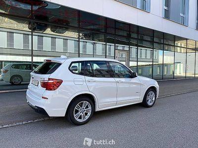 gebraucht BMW X3 2.0 M-Sportpaket mit Top Ausstattung