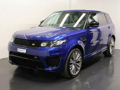 gebraucht Land Rover Range Rover Sport 5.0 V8 SC SVR