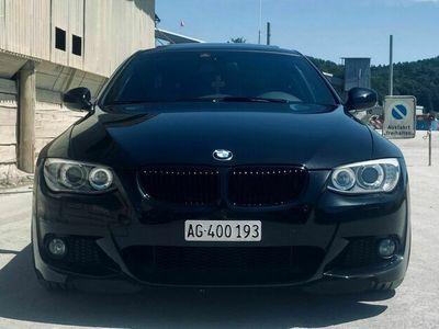 gebraucht BMW 325 3er i e92 schwarz