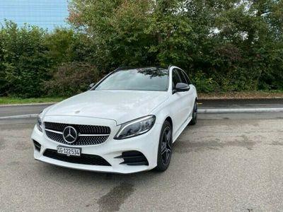 gebraucht Mercedes C220 C-Klassed Swiss Star AMG Line 4M 9G-Tronic