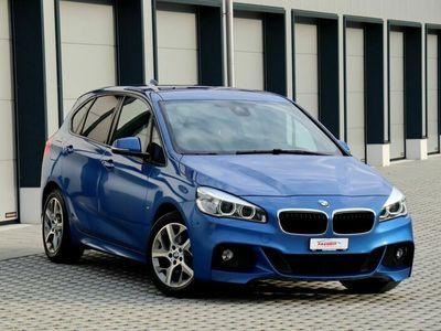 gebraucht BMW 218 Active Tourer 2er 218d xDrive Active Tourer M Sport Steptronic Blau 2er d xDrive M Sport Steptronic Blau