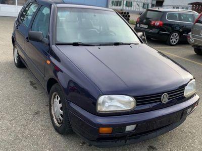 gebraucht VW Golf III 1.6 Benzin Mit MFK