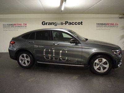 gebraucht Mercedes E300 GLC Coupé d AMGLine 4M