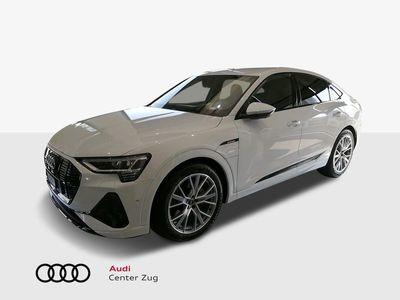 gebraucht Audi E-Tron - 50 Sportback S Line quattro