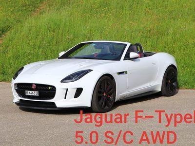 gebraucht Jaguar F-Type R V8 5.0l [Charakterstark | Sportlich]