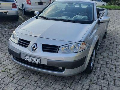 gebraucht Renault Mégane Cabriolet 1.6 16v
