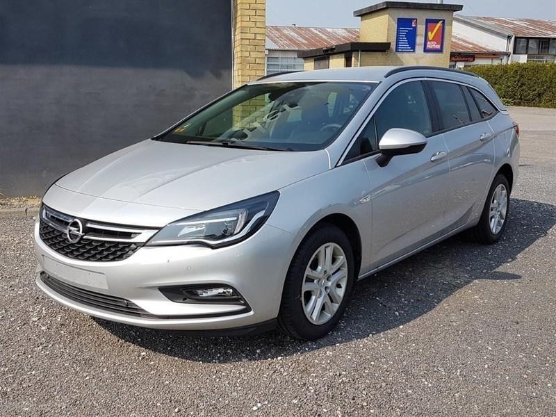 Solgt Opel Astra 1,0 Turbo Enjoy St., brugt 2016, km 7.600 i Sjælland