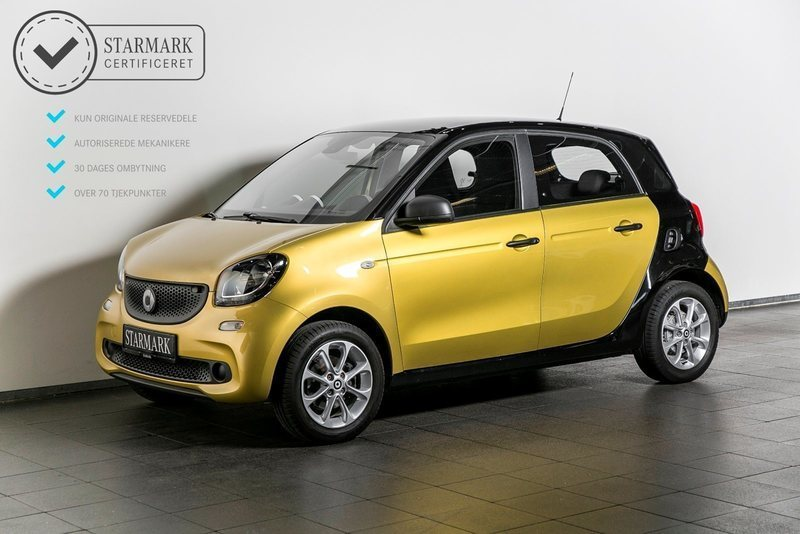 solgt smart forfour 1 0 pure brugt 2015 km i vejle. Black Bedroom Furniture Sets. Home Design Ideas