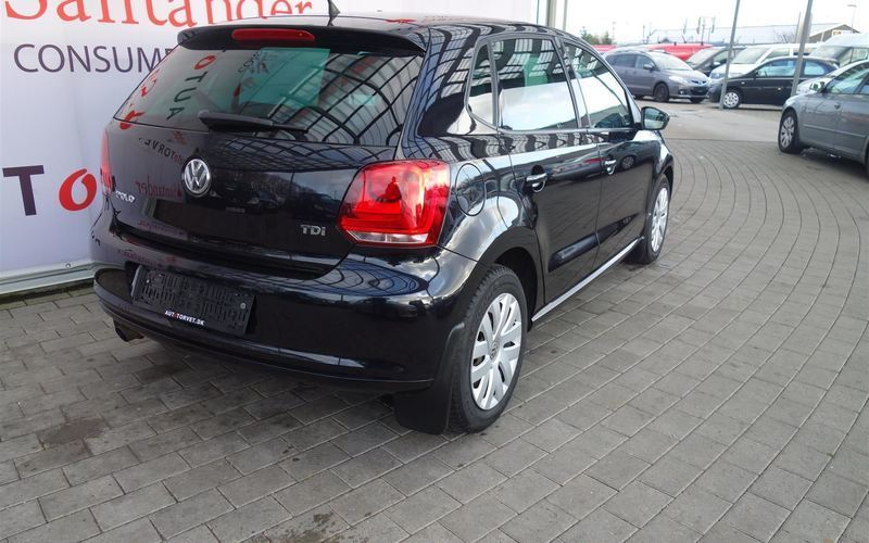 brugt VW Polo 1,6 D Comfortline 1,6 TDI 90HK 5d