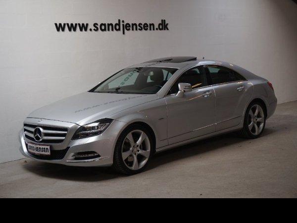 brugt Mercedes CLS350 3,0 CDi aut. 4-M BE, 4d