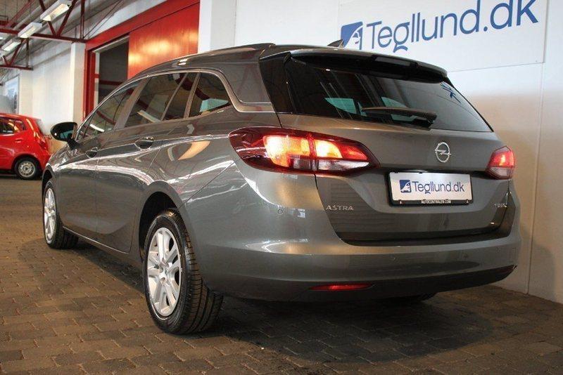 Solgt Opel Astra 1,6 CDTi 110 Enjoy., brugt 2016, km 8.000 i Kolding