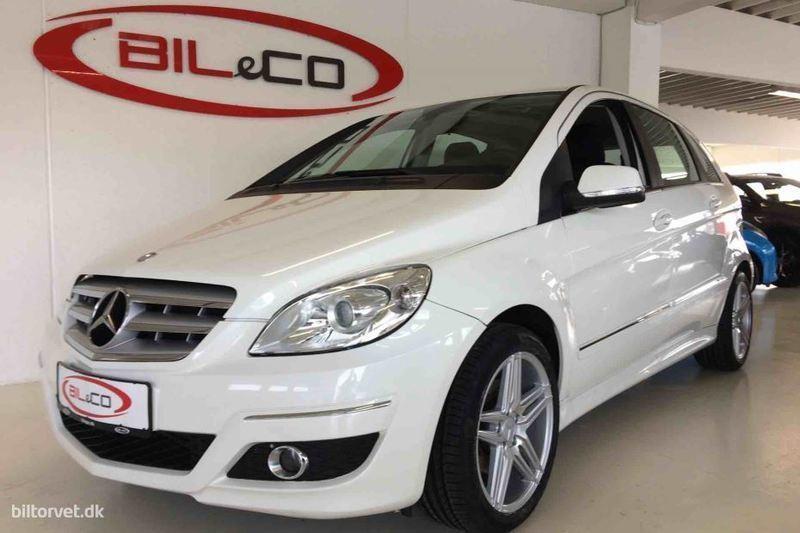 brugt Mercedes B180 2,0 CDI 109HK 6g
