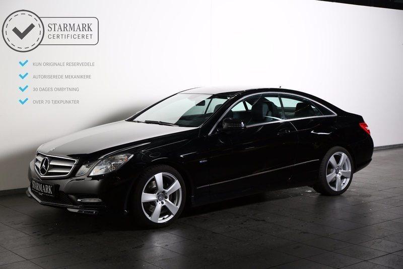brugt Mercedes E220 2 CDi Coupé aut. BE