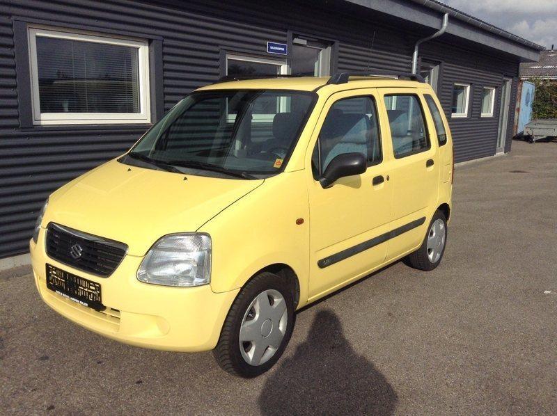 Wagon R+ – Køb Suzuki Wagon R+ brugt – billige biler til salg