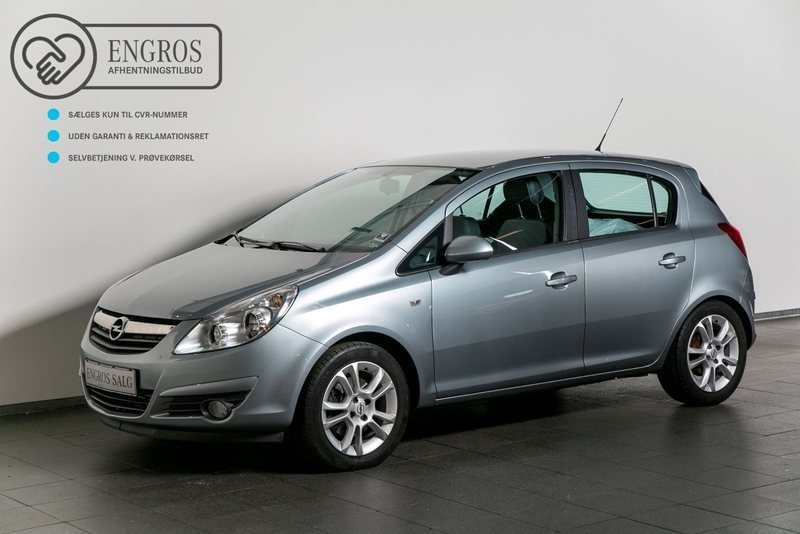 solgt opel corsa 1 3 cdti 90 cosmo brugt 2010 km i vejle. Black Bedroom Furniture Sets. Home Design Ideas