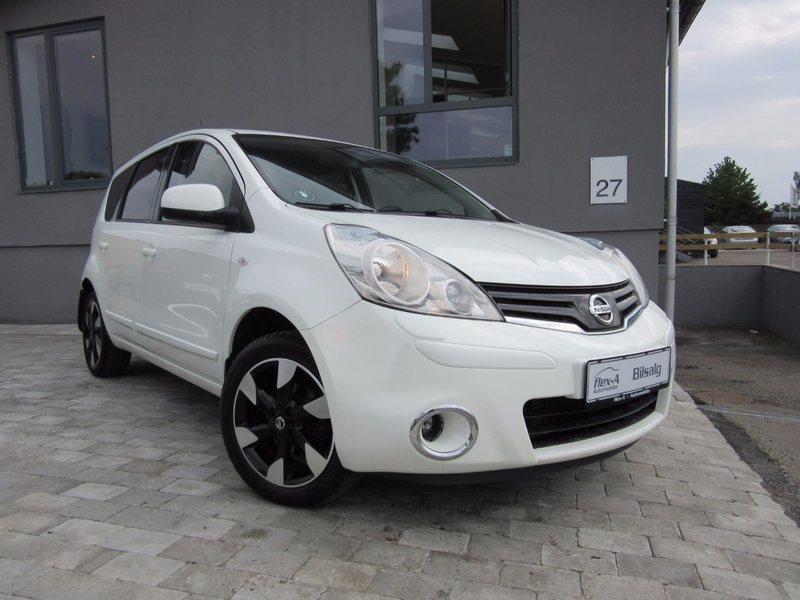 brugt Nissan Note 1,5 dCi 90 Select Edition