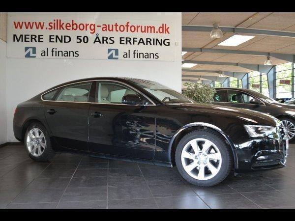 brugt Audi A5 Sportback 2,0 TDi 150 5d