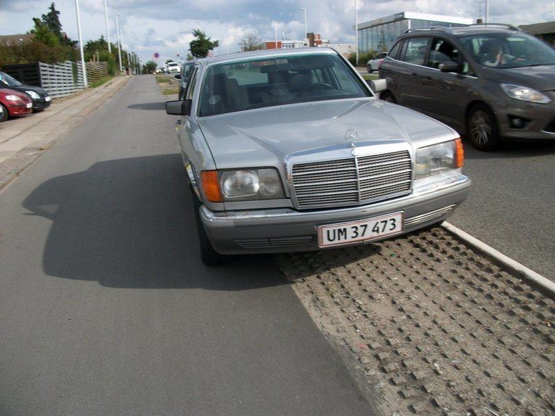 Solgt Mercedes 260 SE, brugt 1986, km 270.000 i Herlev - AutoUncle