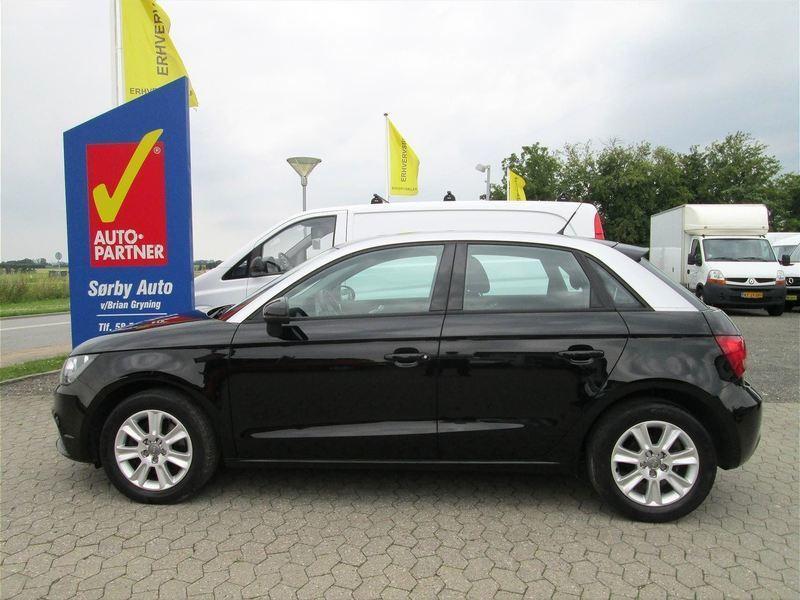 brugt Audi A1 Sportback 1,4 T FSI Ambition S Tronic 122HK 5d Aut.