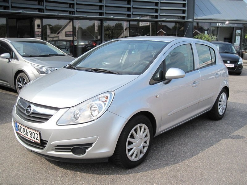 solgt opel corsa 1 3 cdti 90 enjoy brugt 2007 km i svinninge. Black Bedroom Furniture Sets. Home Design Ideas