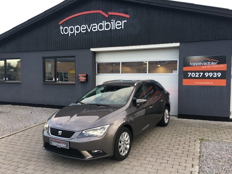 solgt seat leon st 1 6 tdi 105 styl brugt 2014 km i stenl se. Black Bedroom Furniture Sets. Home Design Ideas