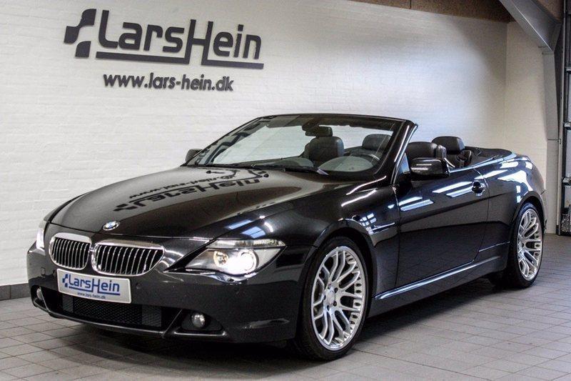 645 Cabriolet – Køb BMW 645 Cabriolet brugt – billige biler til salg